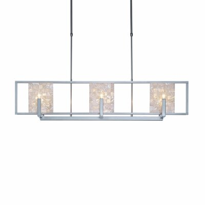New Traditional 6-Light Kitchen Island Pendant Finish: Soft Gold, Adjustable Height: 29.7 - 39