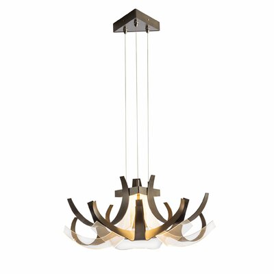 Regalia 1-Light Geometric Pendant Finish: Black