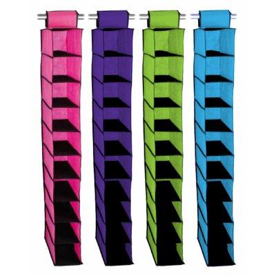Sunbeam 10 Shelf Closet Organizer - Color: Purple