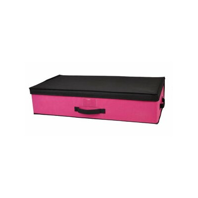 Storage Box Under Bed Color: Pink