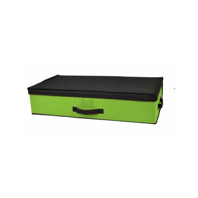 Storage Box Under Bed Color: Green