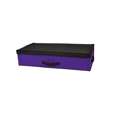 Storage Box Under Bed Color: Purple