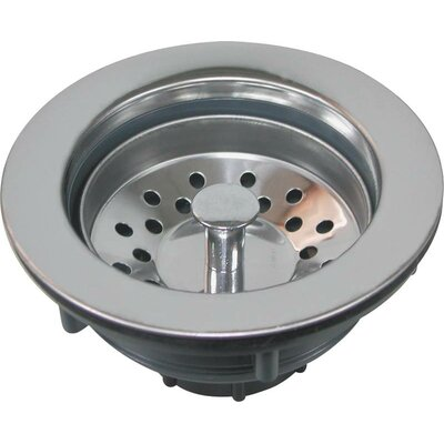 World Wide Sourcing Plastic Stainless Steel Top Sink Strainer