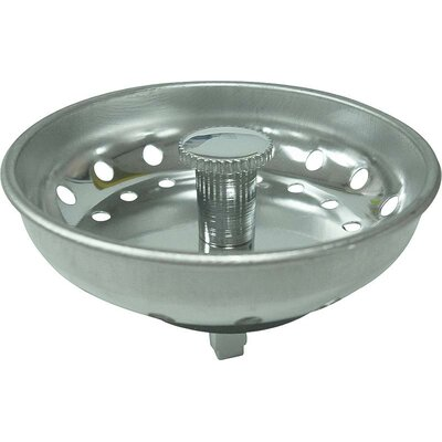 World Wide Sourcing Stainless Steel Basket Strainer-Peg Post