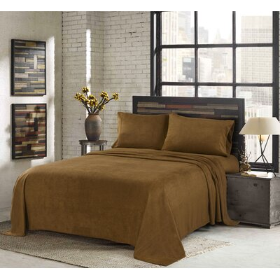 Sunbeam Super Soft Heavy Weight Fleece Sheet Set Size: Full