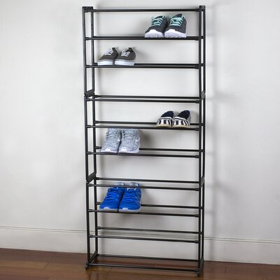 10-tier 30 Pair Shoe Rack