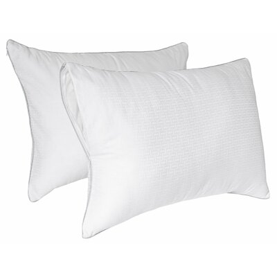 Tailor Fit Downier Fiberfill Zippered Pillow Enhancer  (Set of 2) Size: King