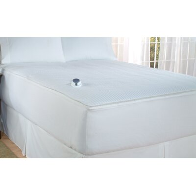 Soft Heat 0.5 Polyester Heated Mattress Pad Size: California King
