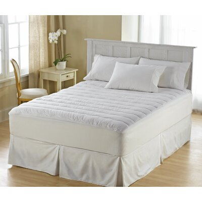 Perfect Fit Perfect Fit 250 Thread Count Clean and Fresh Waterproof Mattress Pad - Size: Queen