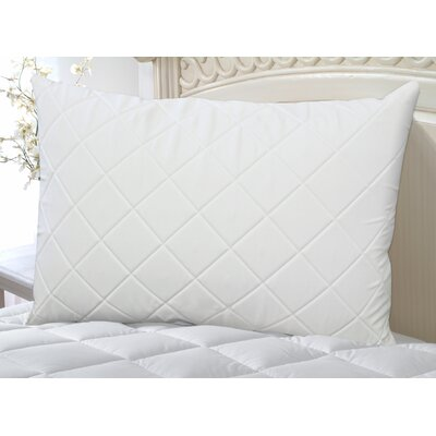 Wellrest Quilted Memory Foam Pad and Pillow Enhancer Set Size: Twin