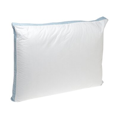 Firm Density 233 Thread-Count Quilted Sidewall Polyfill Pillow Size: King