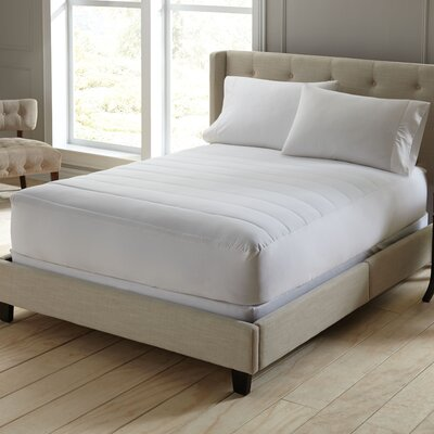 Wellrest Perfect Comfort Polyester Mattress Pad Size: Queen