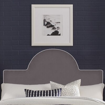 Instant Panel Headboard Size: Full/Queen, Color: Gray