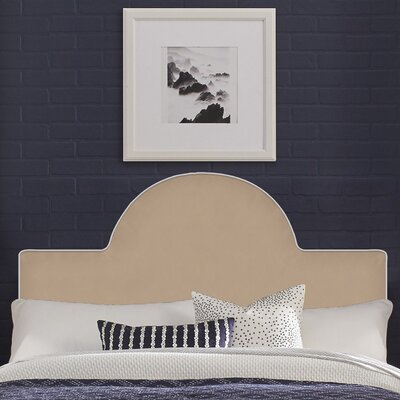 Instant Panel Headboard Color: Taupe, Size: Full/Queen