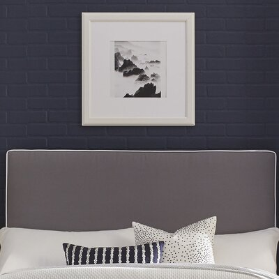 Instant Panel Headboard Color: Gray, Size: Full/Queen