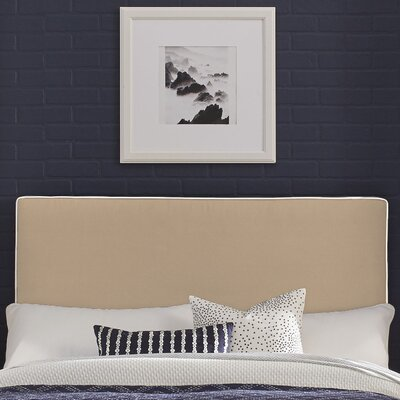 Instant Panel Headboard Size: Twin, Color: Taupe