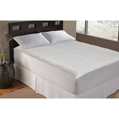 Tempa Cool Polyester Mattress Pad Size: California King