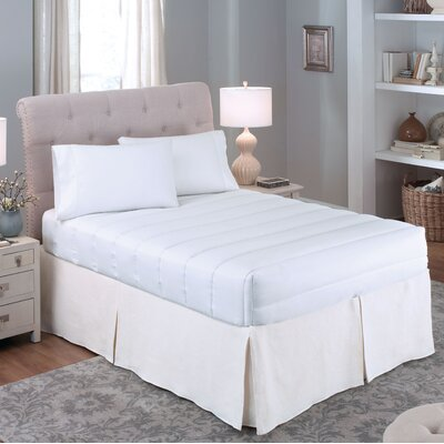 Luxury Loft 4 Sided Mattress Pad Size: Twin