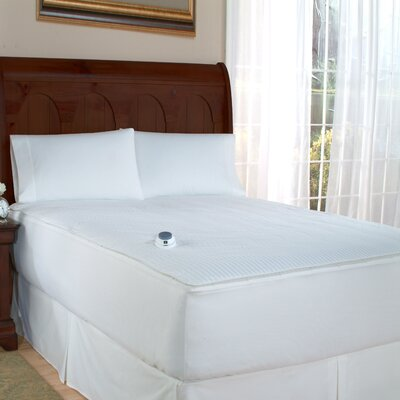 Perfect Fit Polyester Electric Heated Warming Two-In-One Removable Top Mattress Pad - Size: California King at Sears.com