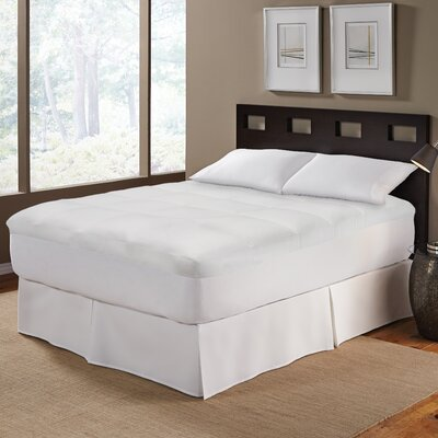Pin Stripe 2 Mattress Pad Bed Size: Full