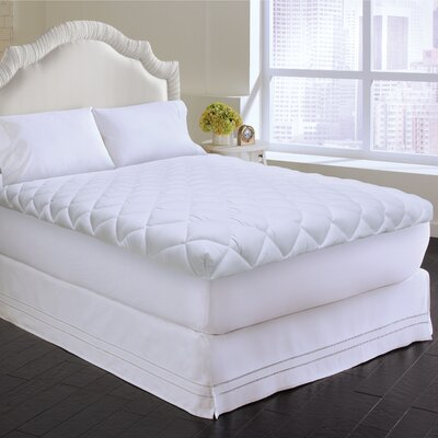 Pure Sleep Probiotic Smooth Top 1 Mattress Pad Bed Size: Twin