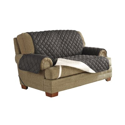 Ultimate Waterproof Box Cushion Armchair Slipcover Upholstery: Graphite