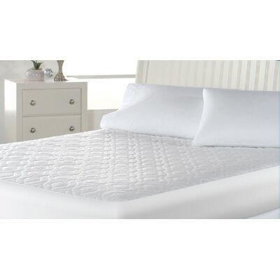Wellrest Aller-Free Fleece Polyester Mattress Pad Size: King