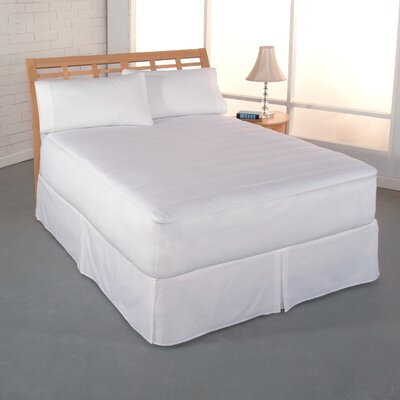 Perfect Fit Clean and Fresh Cotton Mattress Pad - Size: Queen