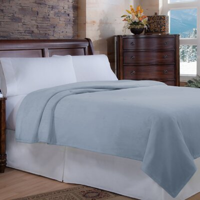 Perfect Fit Soft Heat Macromink Warming Blanket - Color: Blue, Size: King at Sears.com