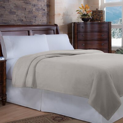 Perfect Fit Soft Heat Macromink Warming Blanket - Size: Twin, Color: Linen at Sears.com