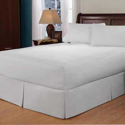 Soft Heat Cotton Sateen 250 Thread Count Warming Pad Size: Queen