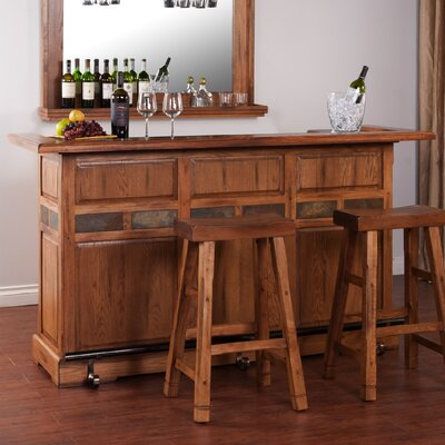 Sedona Bar Set with Bar Stools
