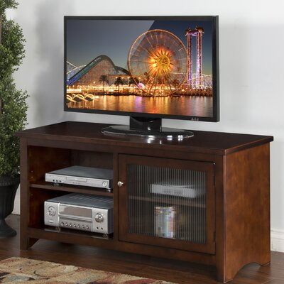 Cappuccino 42-52 TV Stand Width of TV Stand: 25 H x 52 W x 18 D