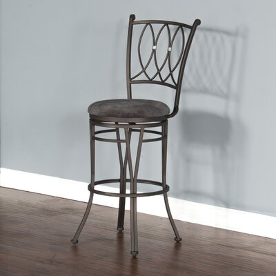 Abbot Bridge 30 inch Swivel Bar Stool with Cushion
