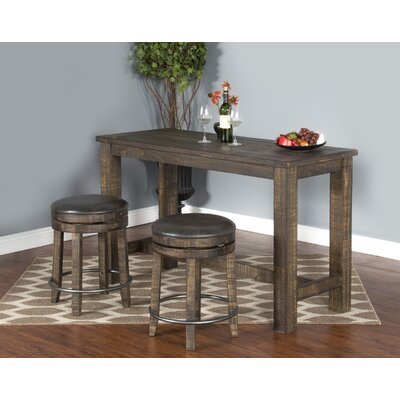 Cortney Counter Height Dining Table Finish: Tobacco Leaf