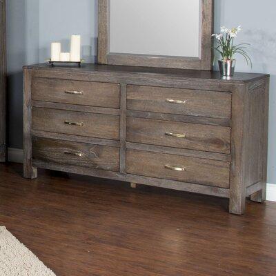 Cortney 6 Drawer Standard Dresser