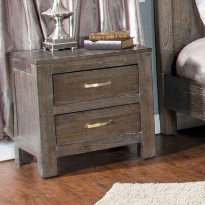 Cortney 2 Drawer Nightstand