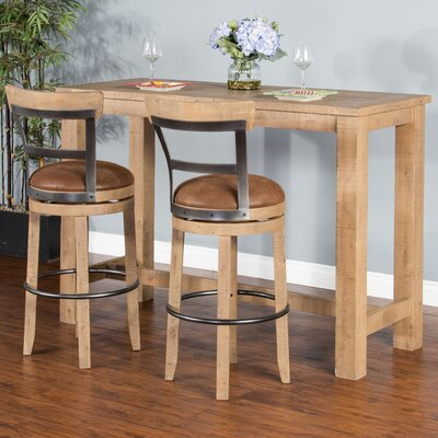 Cortney Pub Table Finish: Amber Wheat