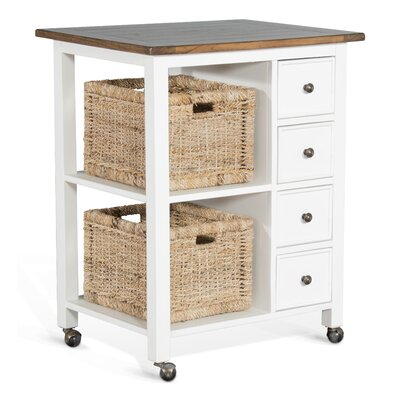 Hounsfield Kitchen Island Base Finish: White