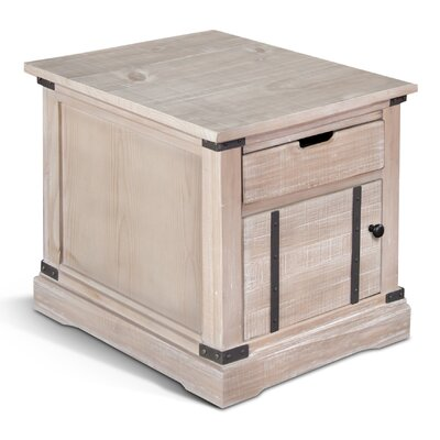 Howden End Table Finish: Mountain Smoke