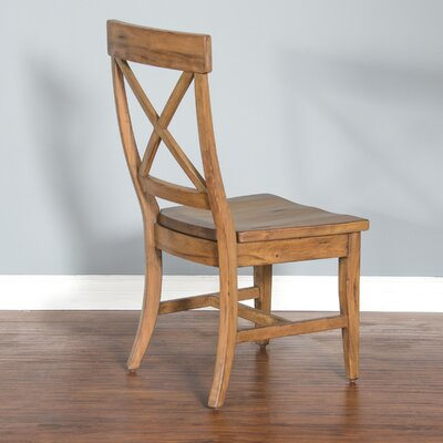 Durocher Dry Leaf Crossback Dining Chair