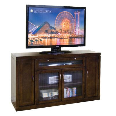 "Sunny Designs Laguna Counter 62"" TV Stand - Finish: Espresso at Sears.com"