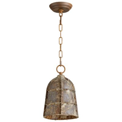 Rusto 1-Light Mini Pendant Size: Small