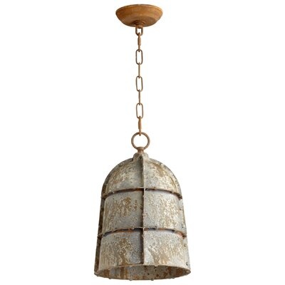 Rusto 1-Light Mini Pendant Size: Large