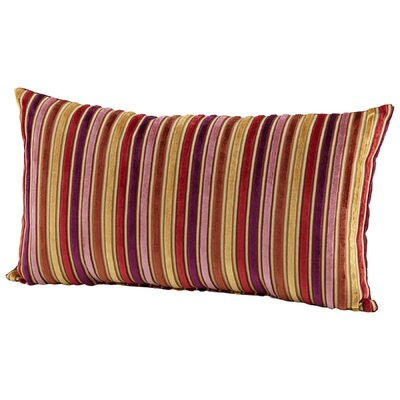 Vibrant Strip Boudoir/Breakfast Pillow
