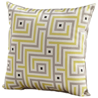 Maze Throw Pillow