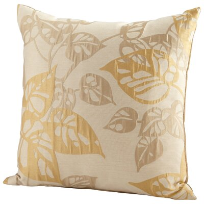 Ecru Oak Throw Pillow