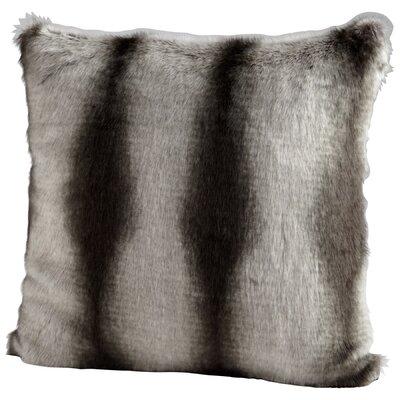 Faux Chinchilla Throw Pillow