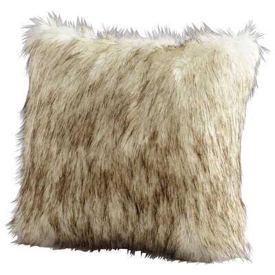 Prairie Wolf Throw Pillow