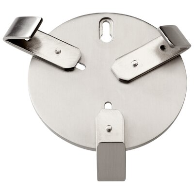 Wall Hanger Bracket in Satin Nickel